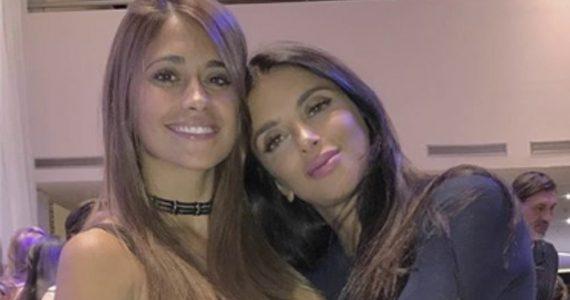 Esposas de Messi y Fábregas posan en Dubai