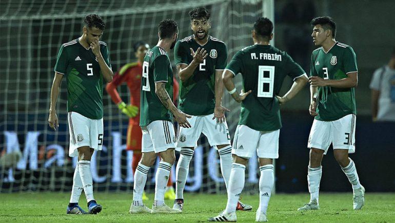 Selección Mexicana pierde ante Argentina