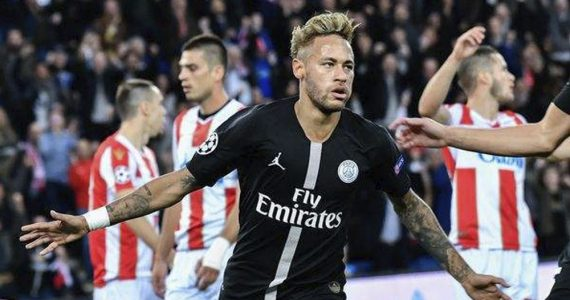 Anota Neymar con el PSG