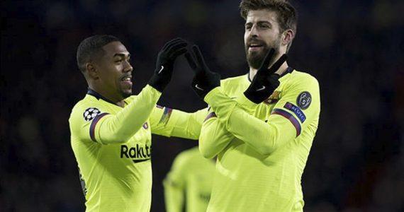 Piqué es el defensa del Barça más goleador en Champions