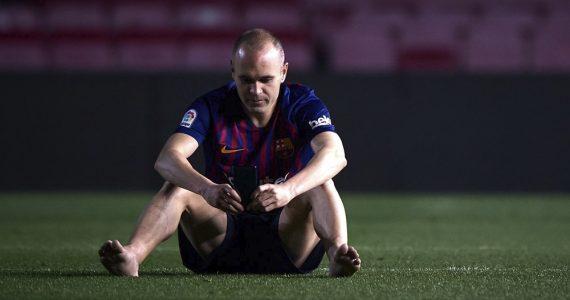 Andrés Iniesta regresa a Barcelona