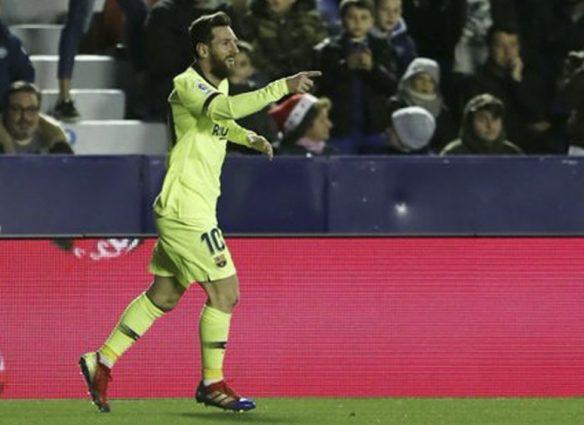 Barcelona y Messi dieron cátedra ante el Levante