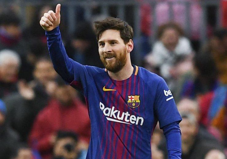Messi hace su sueño realidad