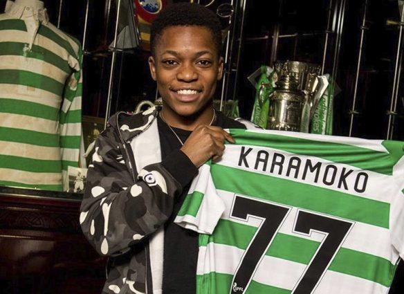 Karamoko, de 15 años, se convierte en futbolista profesional