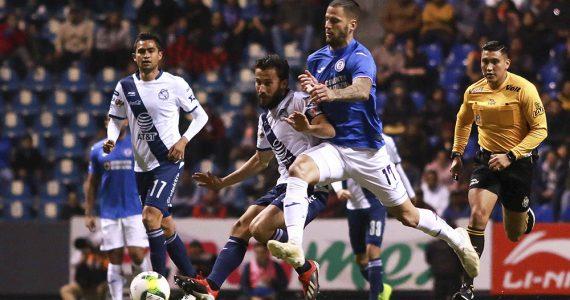 Escueto empate entre Puebla y Cruz Azul
