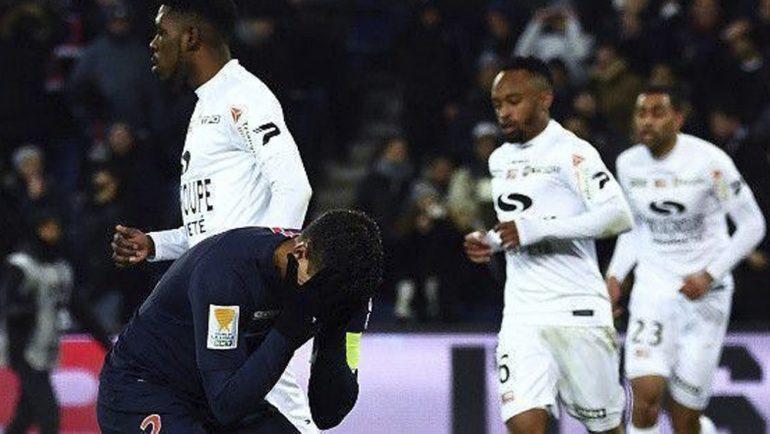 Peor equipo de Francia elimina al PSG