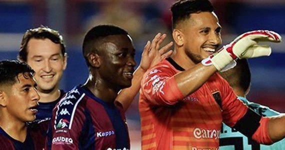 Portero del Atlante hace dos goles en su primer partido