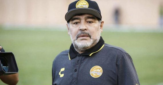 Maradona regresa a México para reincorporarse a Dorados