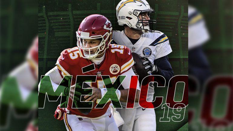 La NFL regresa a México: Chiefs vs Chargers
