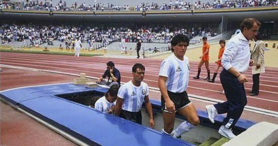 Maradona volverá al Estadio Olímpico Universitario luego de 33 años