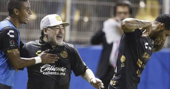 """""""El mejor equipo donde he estado"""": Maradona sobre Dorados"""