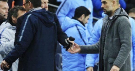 Maurizio Sarri deja en visto a Pep Guardiola tras goleada del City
