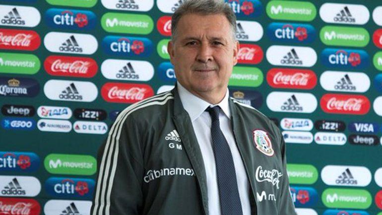 Tata Martino tendrá primera prueba con la Selección Mexican