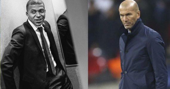 Mbappé ya habló con Zidane, lo quiere en el Real Madrid